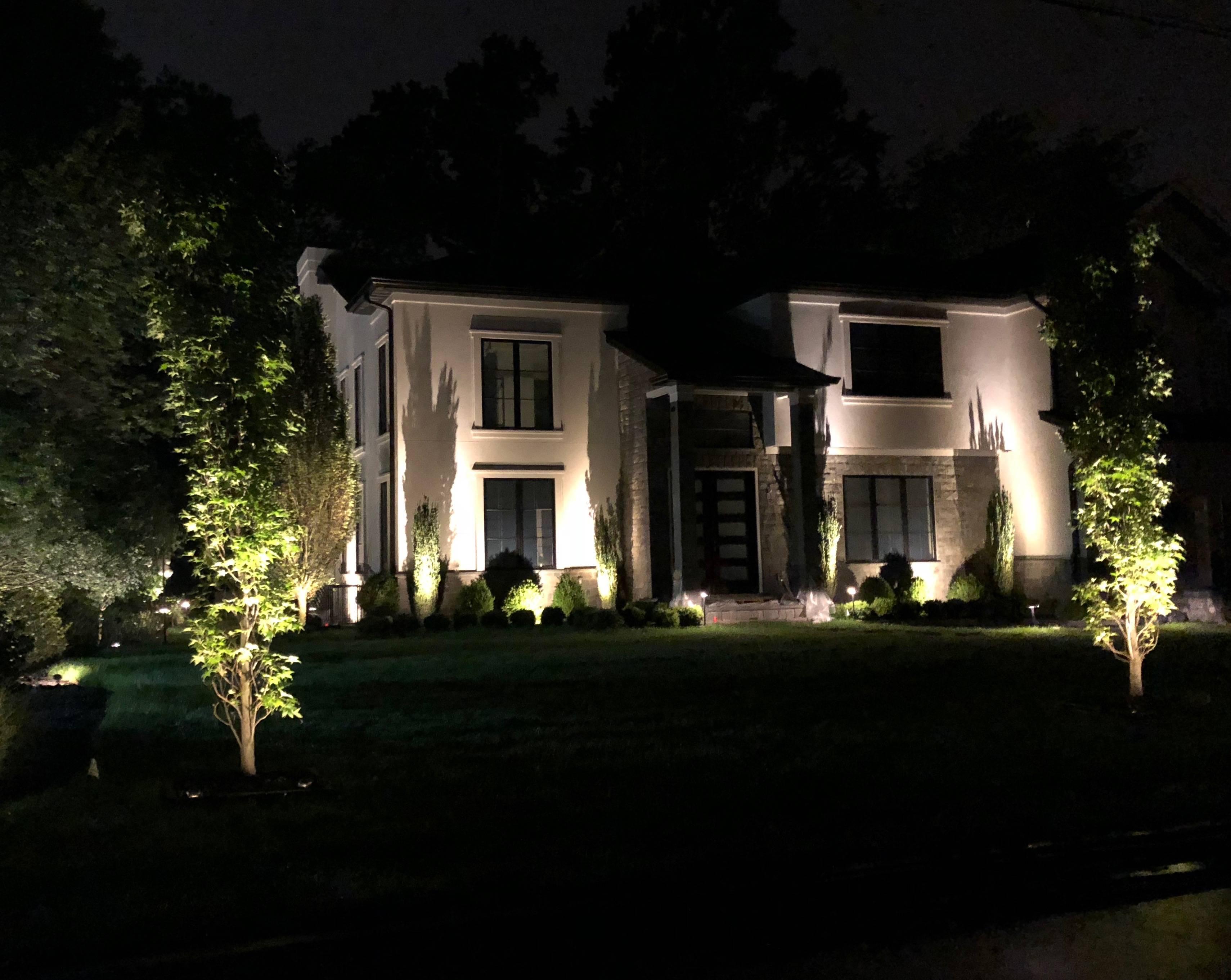 outdoor lighting design NJ