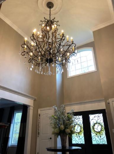 Chandelier Installation Home NJ